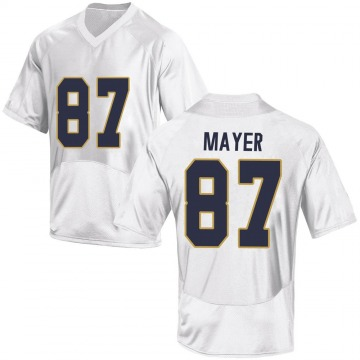 Youth Michael Mayer Notre Dame Fighting Irish Game White Football College Jersey